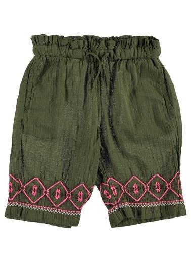 012 Benetton Pantolon Yeşil
